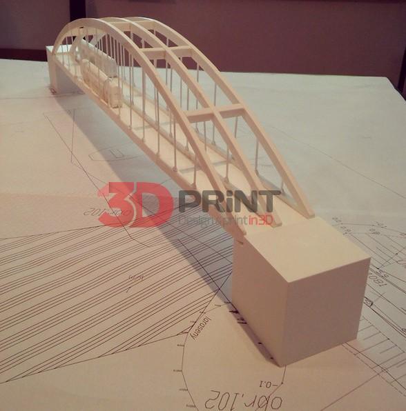 3D печать архитектурного макет Zmorp
