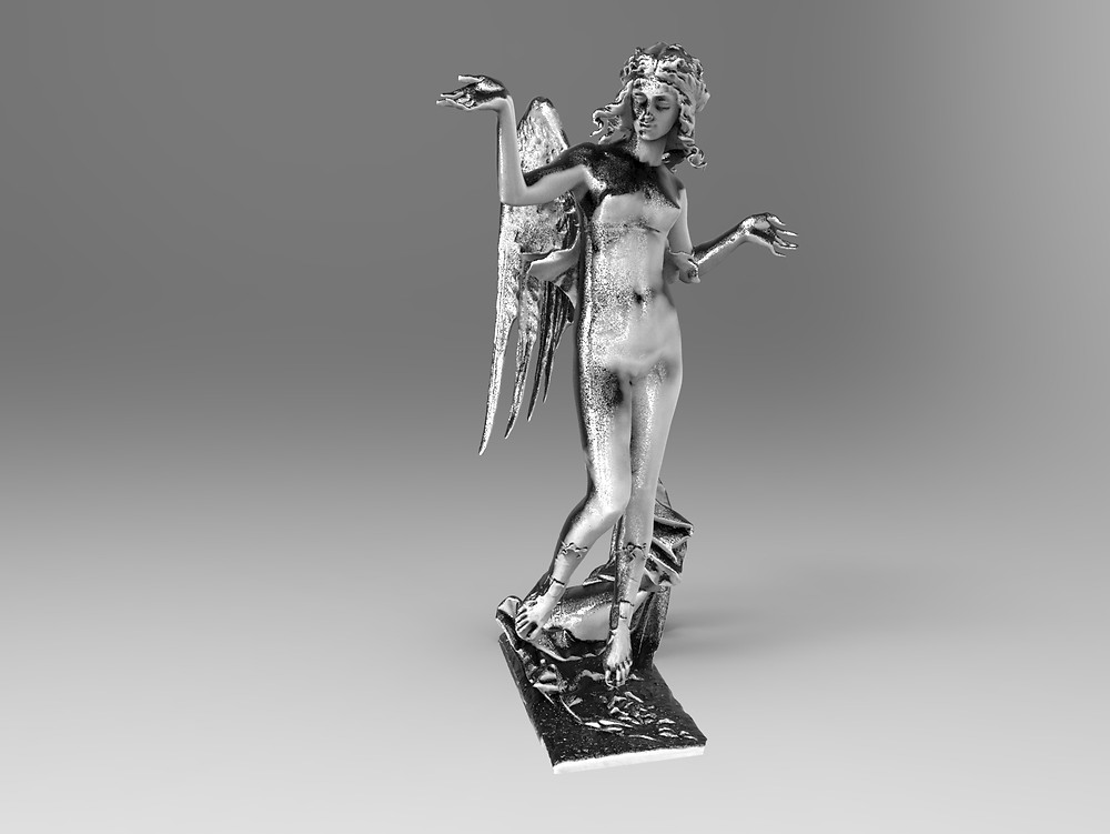 Услуга 3D сканирования скульптуры Киев