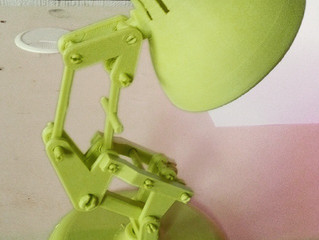Печать легендарной лампы Pixar