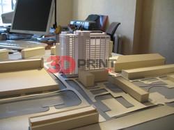 Архитектурный макет жилого дома
