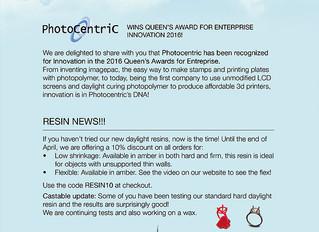 Команда Photocentric и Liquid Crystal получила премию инновации 2016