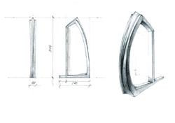 3D модель ручка декор