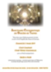 Faire-part Sanctuaire Eucharistique Mars