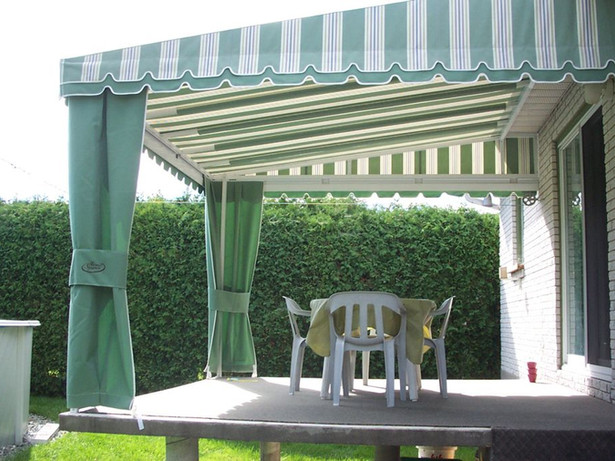 Patio fixed awnings