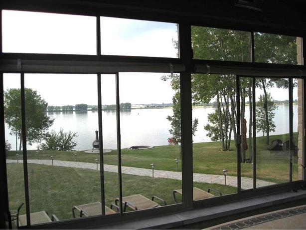 Fermeture de balcon en verre