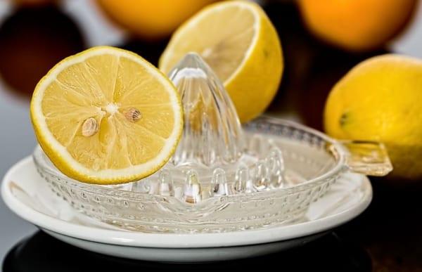 citron, remède contre le nez bouché