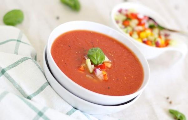 soupe à base de légumes pour contrer les nausées