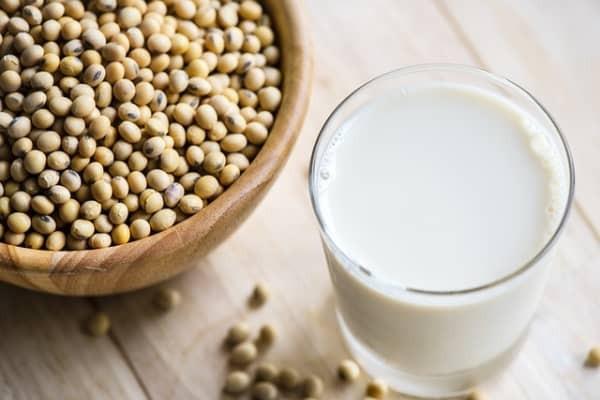Le lait de soja, boisson sans lactose
