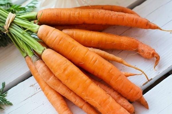 Les carottes, très riches en bêta carotène