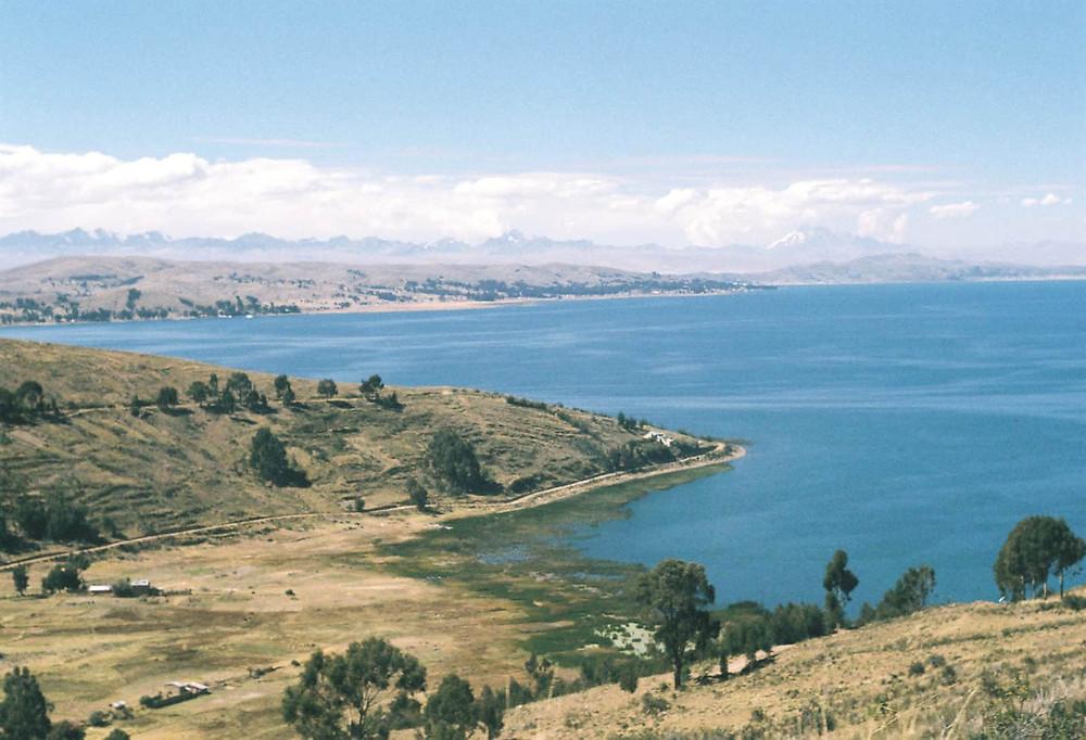 Lake Titicaca - earth chakras