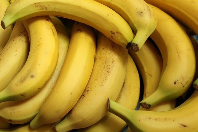 bananas, fruit, food