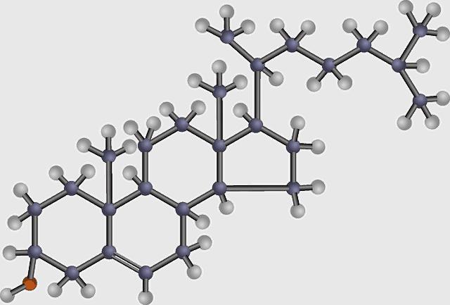 cholestérol, structure chimique, composé organique