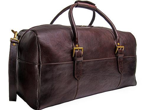 Hidesign Charles Leather Cabin Travel Duffle Weekend Bag
