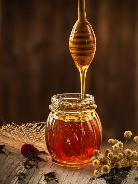 honey, yellow, beekeeper