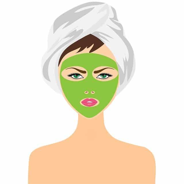 beauty treatment, face mask, girl