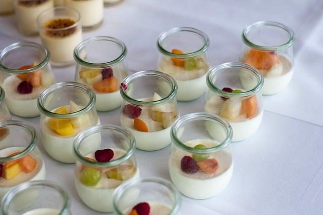 dessert, yoghurt, yaourt