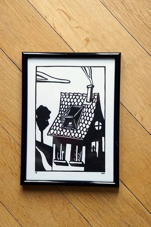 Fenêtre sur toit - découpage original