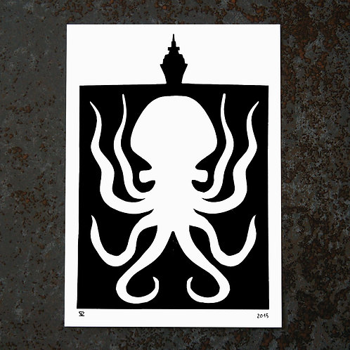 Carte A6 - Kraken