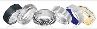 Triton wedding bands