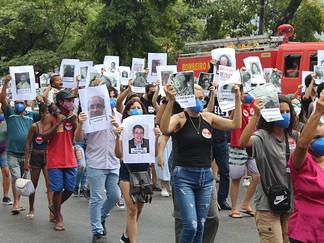"""Por vacina, emprego e auxílio: """"Fora Bolsonaro"""" tem 294 atos confirmados"""
