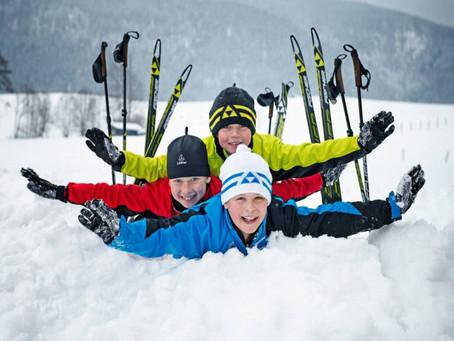 На лыжах по Иркутскому морю 3 января 2021
