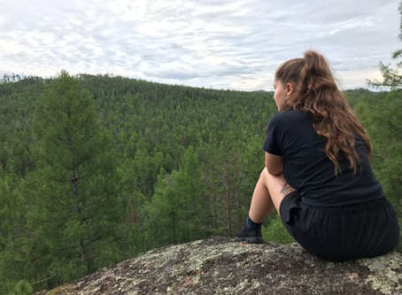 Как мы ходили на Сибиряк и в падь Зобушка на КБЖД 17-19 июля