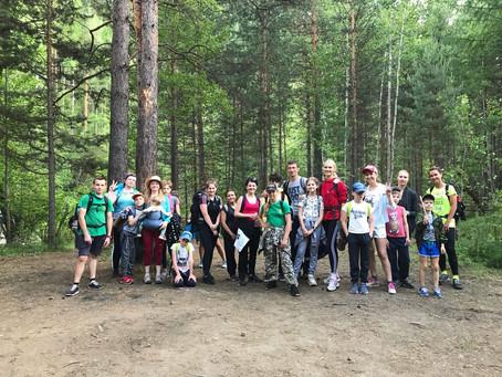 Олхинское плато 27 июня - пикник и солнце, день чудесный!