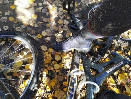 На скальники на велосипеде (скалолазание на Витязе)