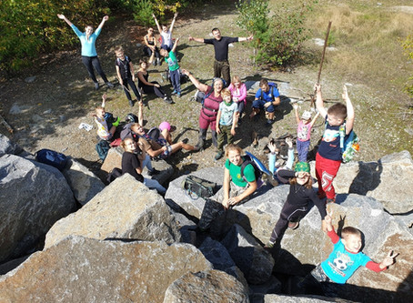 Прогулка на скальники Пионерский и Смоленский 6 сентября 2020