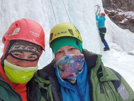 Ледовые занятия на Кынгарге