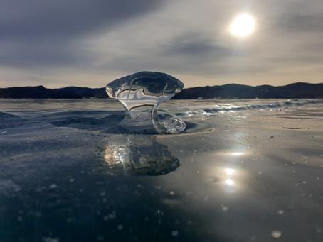 Январскийй лед на Малом море