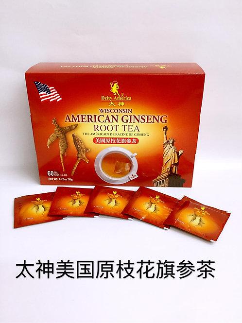 D/A American Ginseng Root Tea 太神牌美國原枝花旗參茶