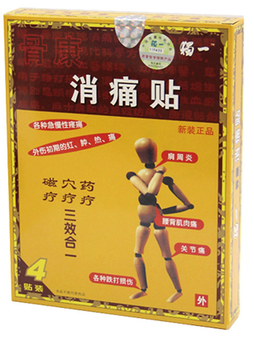 PAIN PAD -Relieves Aches & Pains 4 pads 骨康消痛貼