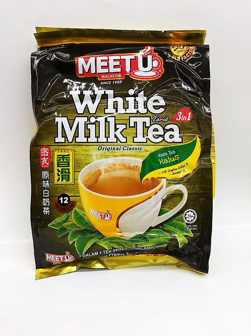 MEET U White Milk Tea Original 3 in 1 ( 600g ), 6 bags/batch