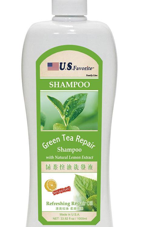 Green Tea Repair Shampoo with Natural Lemon Extracts
