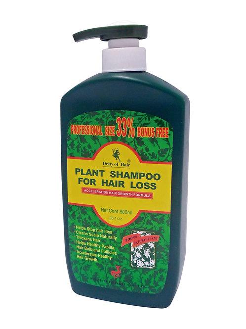 D/A Deity Plant Shampoo For Hair Loss 28.1oz  髮神植物防脱洗頭水家庭装