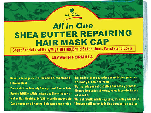 Shea Butter Repairing Hair Mask Cap (All in one)