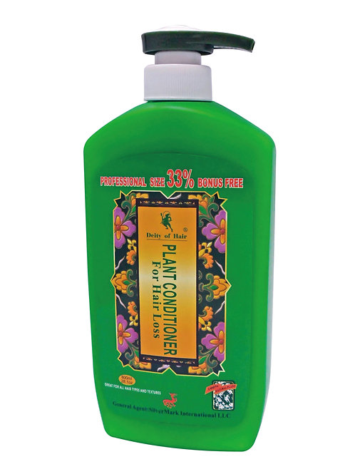 D/A Deity Plant Conditioner For Hair Loss  28.1 oz 髮神家庭装植物护髮素