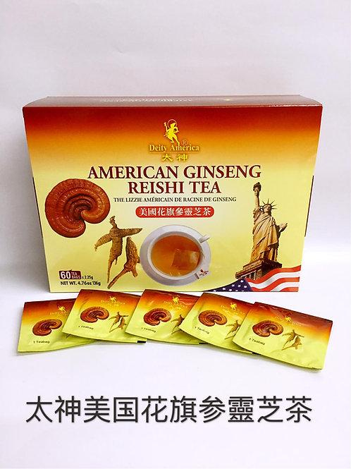 D/A American Ginseng Root Tea 太神牌美國花旗參靈芝茶