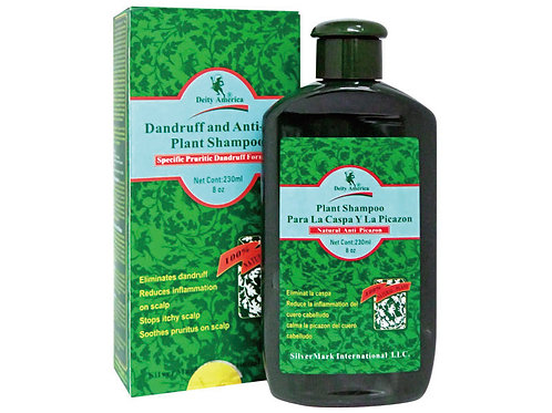 Dandruff and Anti-Itch Plant Shampoo For Hair Loss