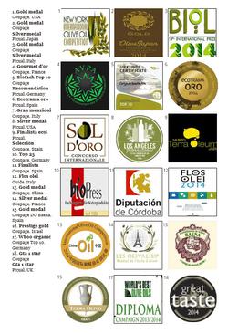 Награгды Suerte_Alta Awards