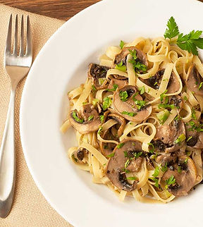 паста с грибами, рецепт пасты с грибами, паста с трюфелем, оливас маркет