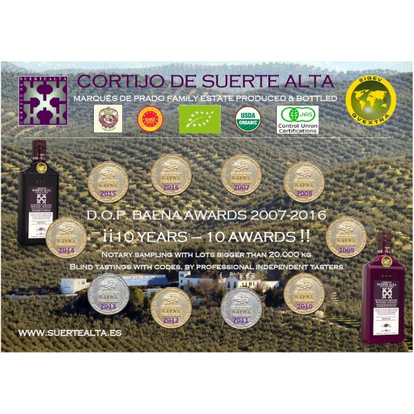 награды Suerte Alta Baena
