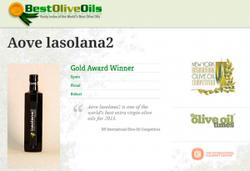 Золотая медаль Lasolana