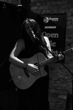 Performing at an Open Mic in Melbs!