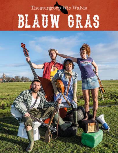 (6j-...) BLAUW GRAS