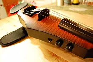 Ned Steinberger Design 5-string electric violin