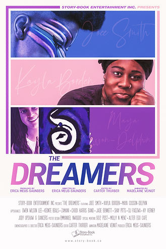 (12x18) Highest Res - The Dreamers Poste