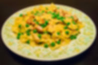 Farfalle Chicken Carbonara with Bottled Thyme Chicken Jus