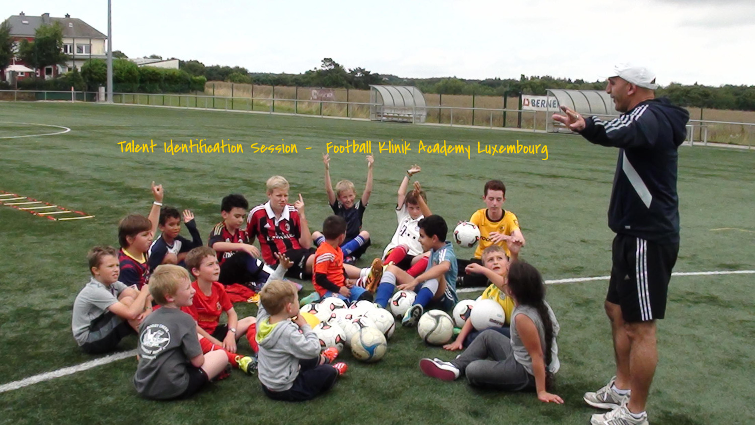 Talent Identification  Session -  Football Klinik Academy Luxembourg